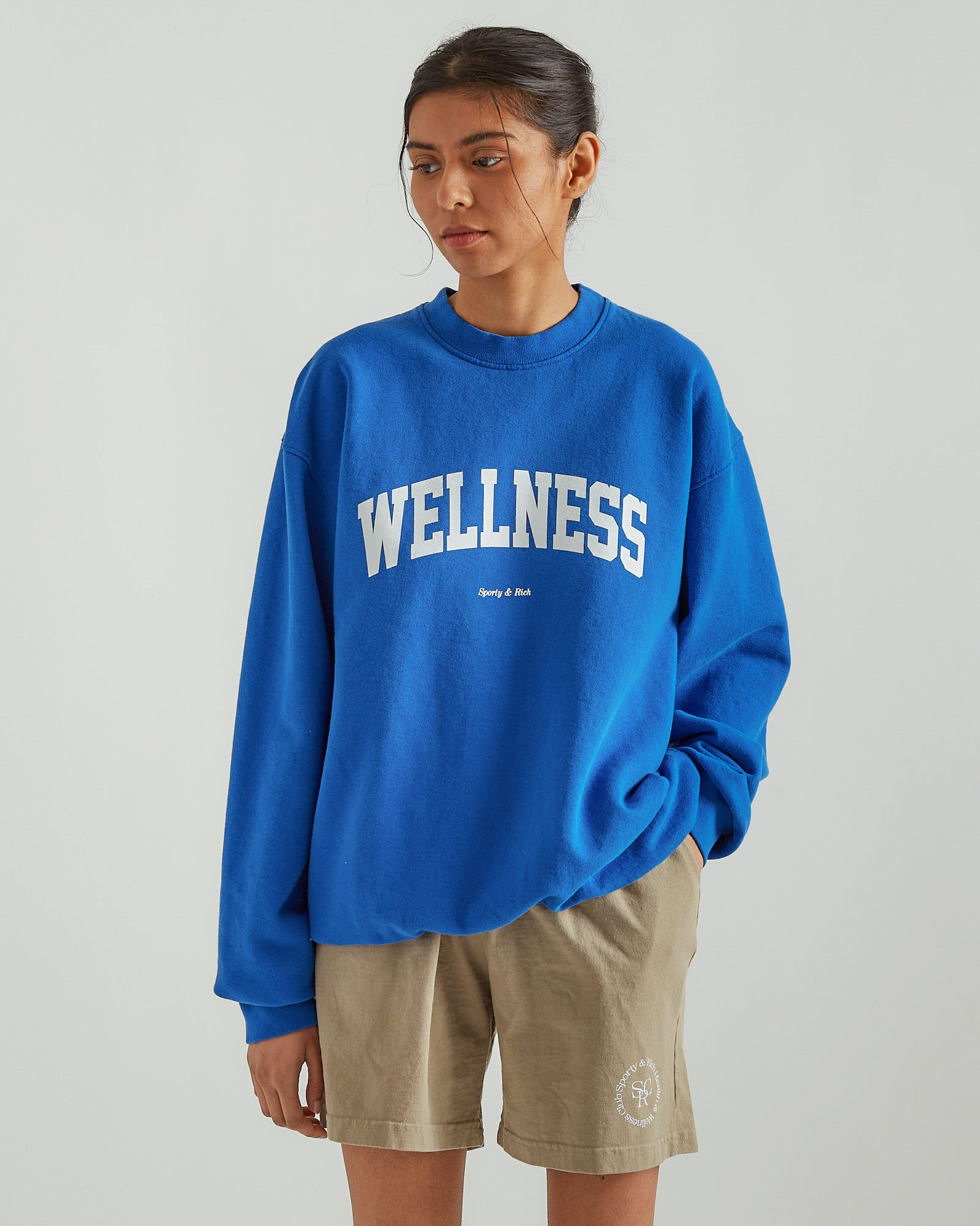Wellness Ivy Crewneck in Princess Blue