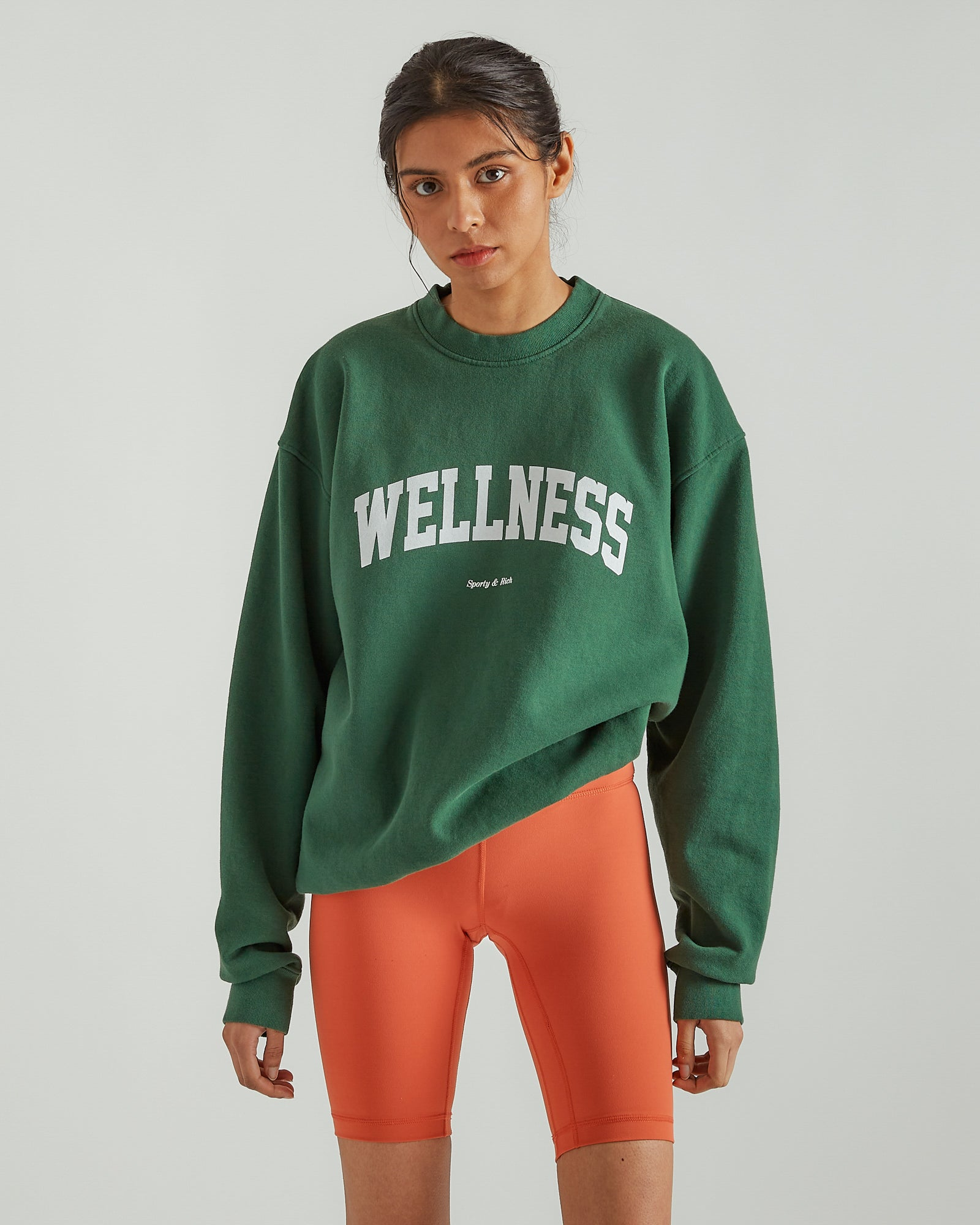 Wellness Ivy Crewneck British Racing Green