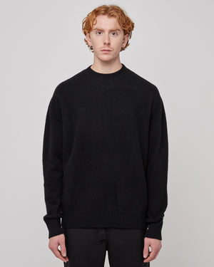 Whistler Crewneck in Black