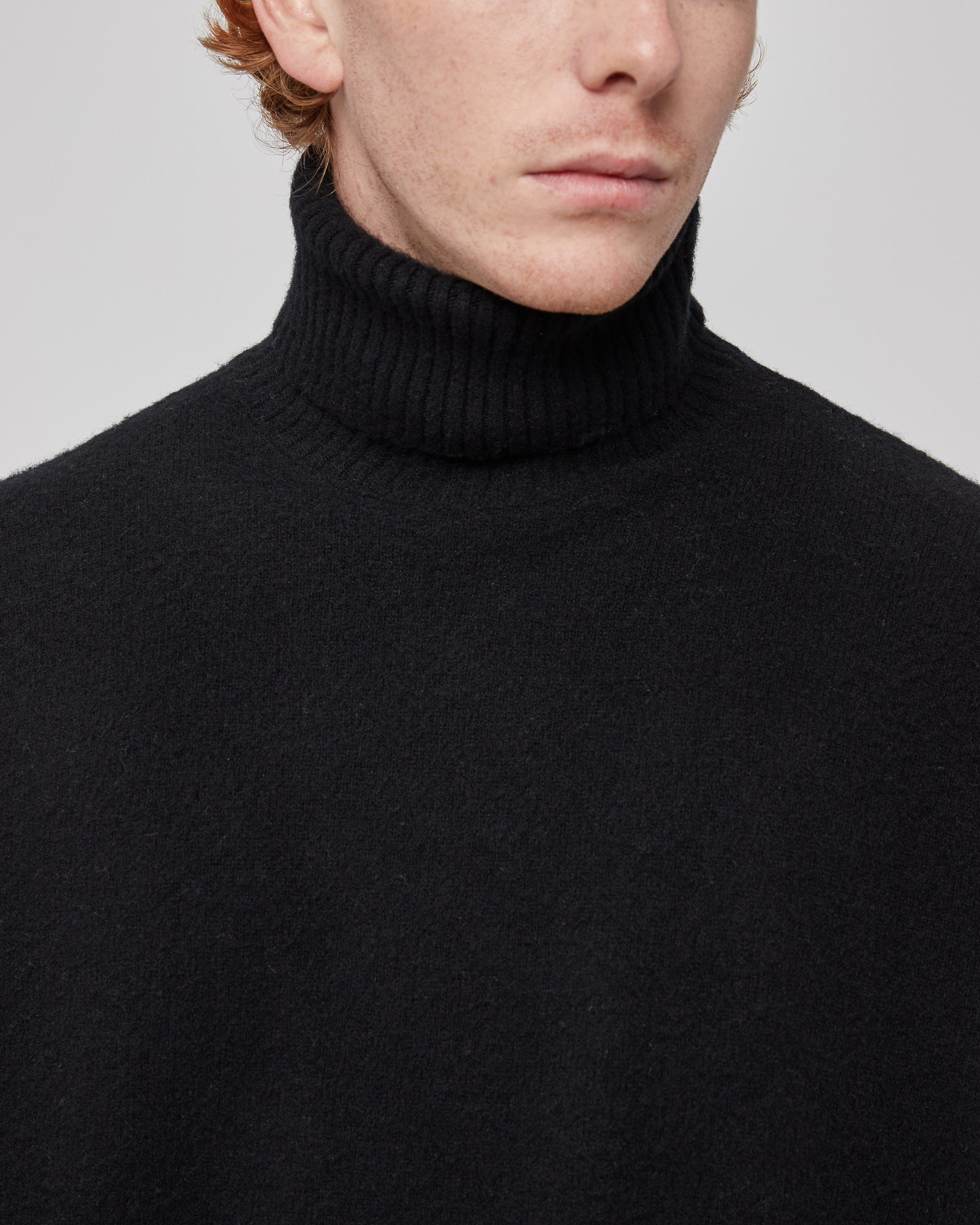 Whistler Rollneck Sweater in Black