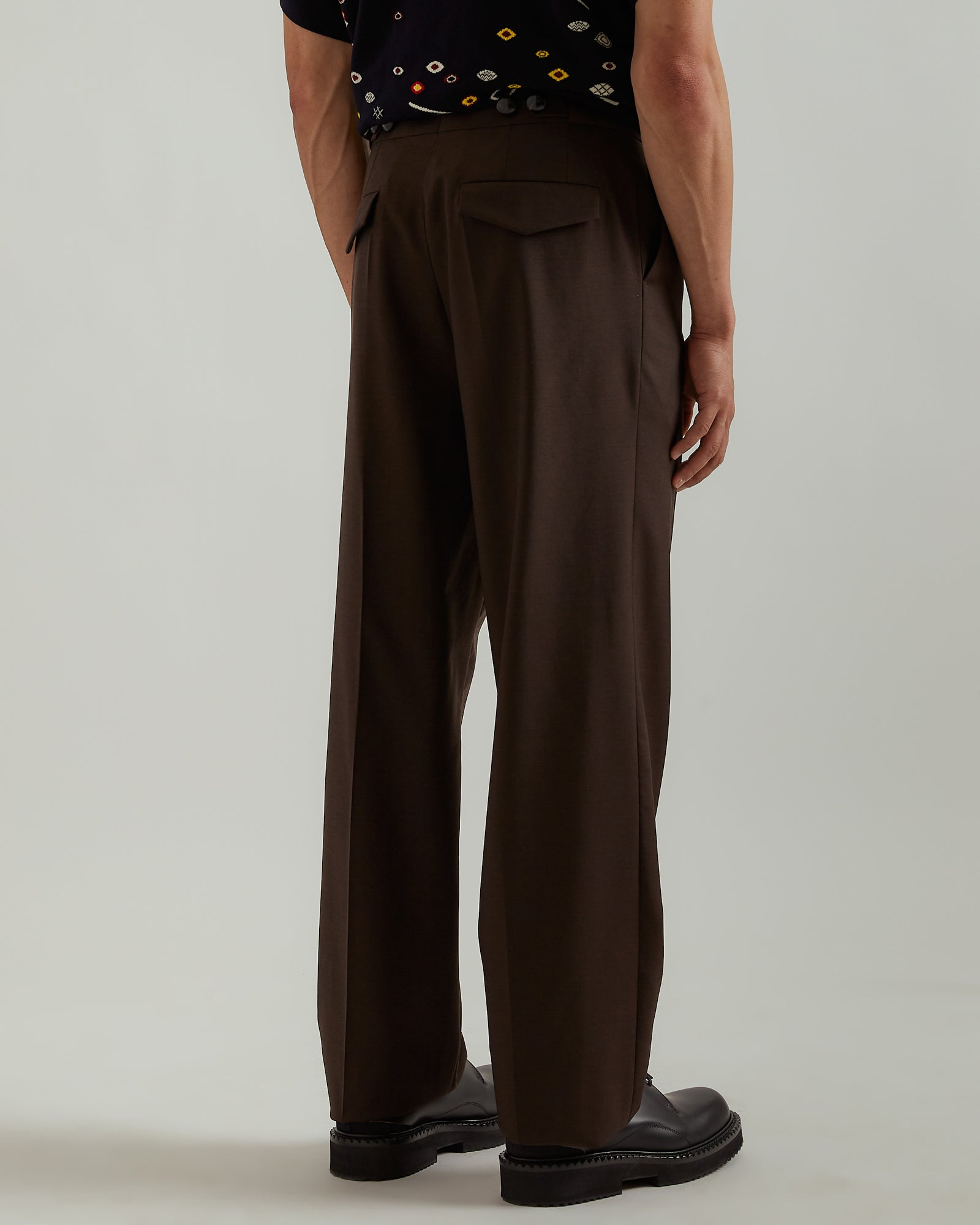 Villemo Trousers in Memorial Brown