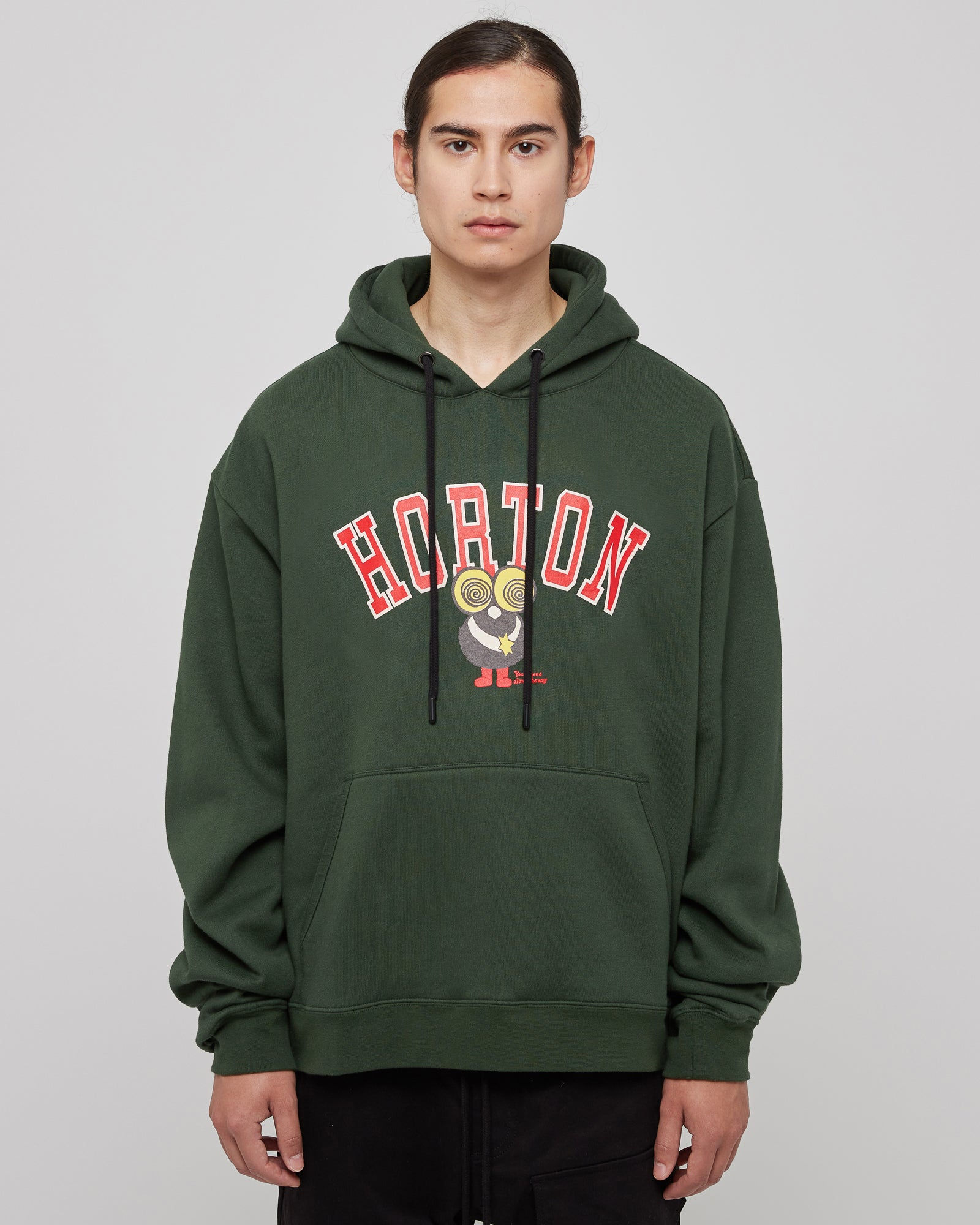 Horton Hoodie in Forest Green