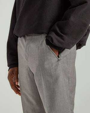 Wool and Mohair Pants in Gray