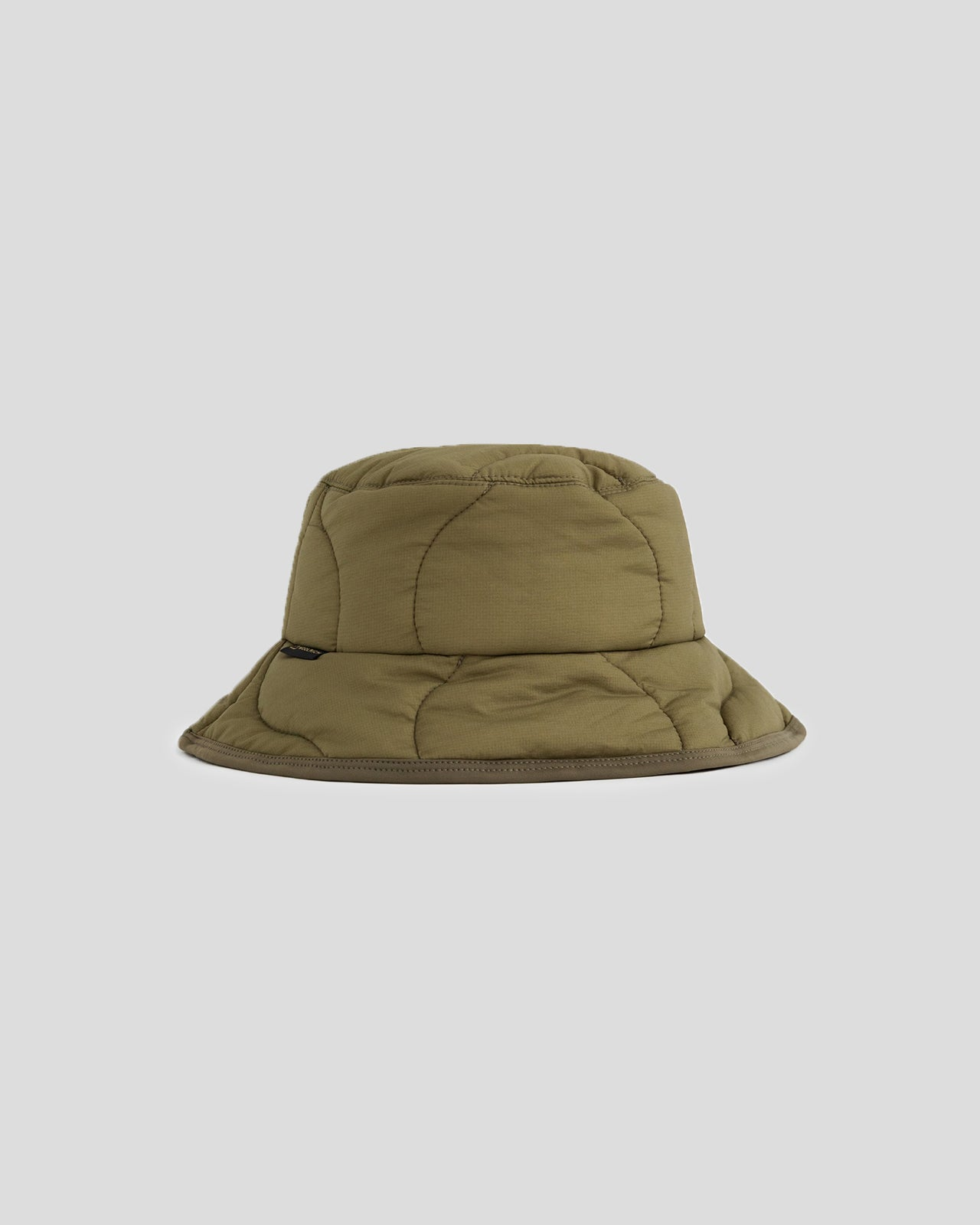 Woolrich Quilted Bucket Hat in Olive