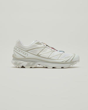 XT-6 ADV Sneakers in White/Lunar Rock