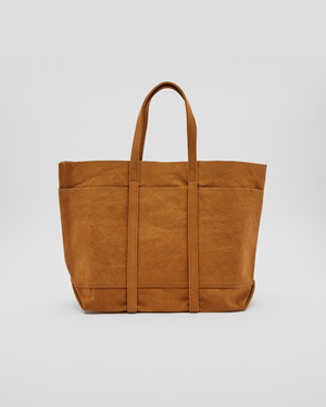 Washed Canvas 6P Tote in Mustard (M)