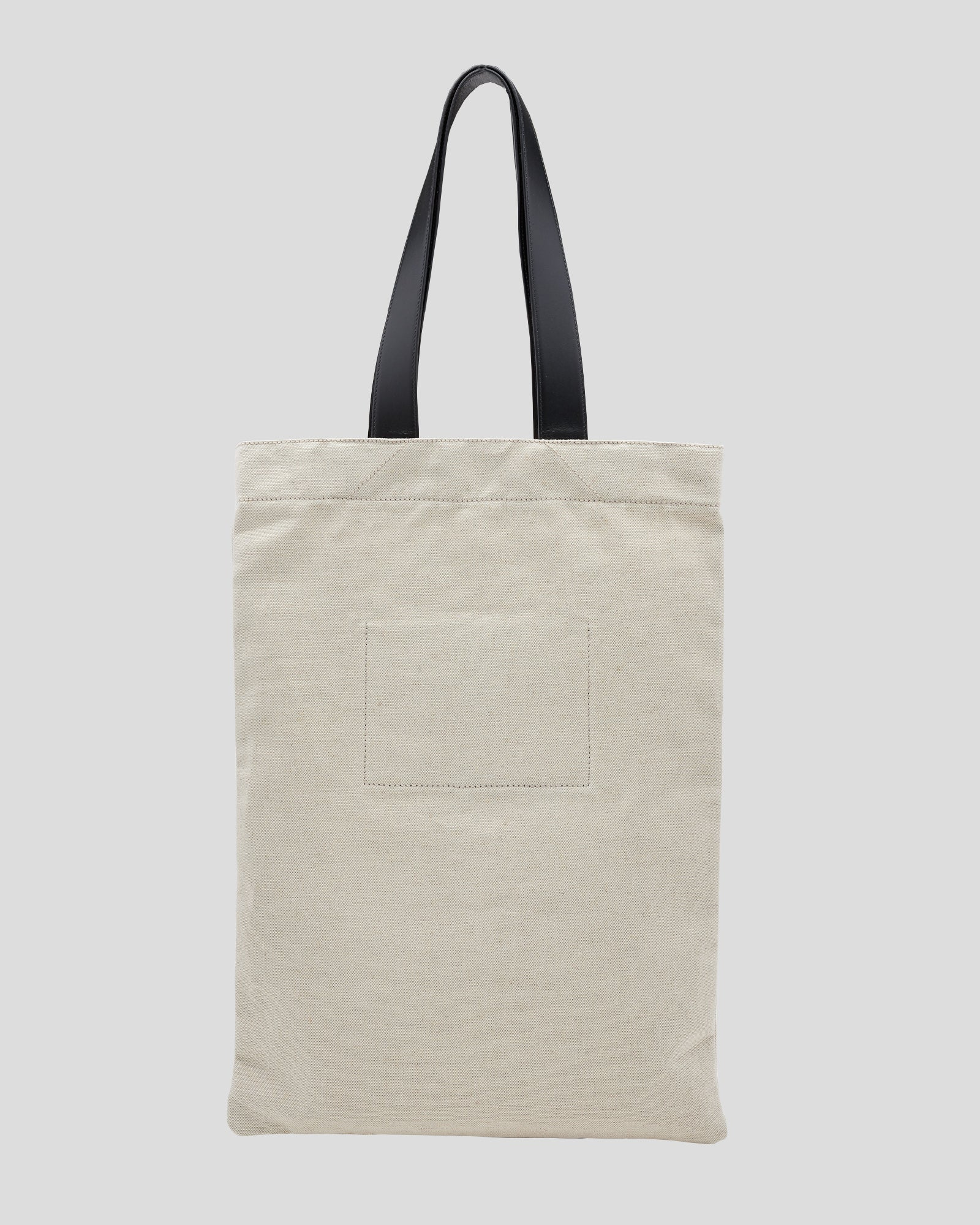 Medium Flat Shopper in Natural