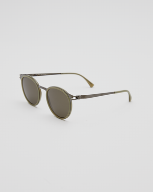 DD2.3 A48-SGP/D9 Sunglasses in Green DBR / Raw Green