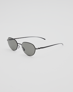 MMESSE024 E-4 Sunglasses in Black / Gray Soild