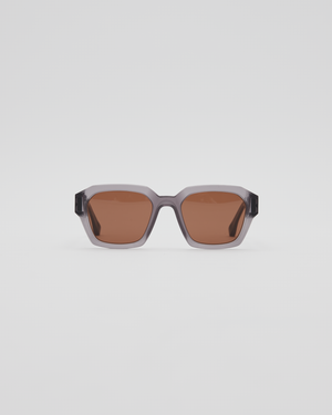MMRAW019 Sunglasses In Raw Smoke / Brown Solid