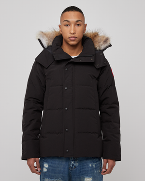 Wyndham Parka in Black