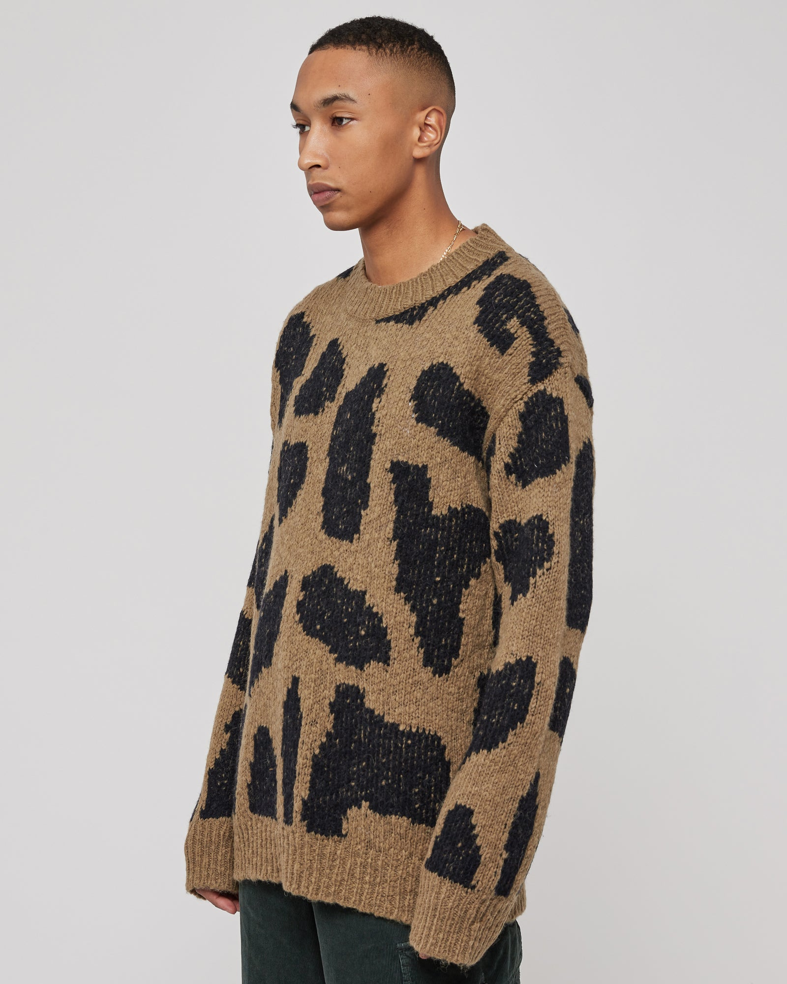 Maddox Sweater in Kaki