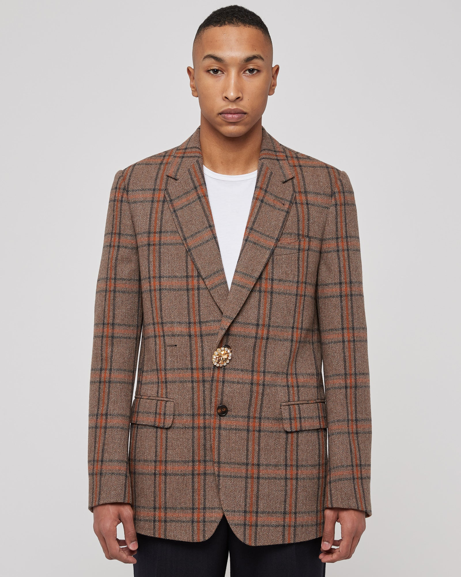 Bury Bis Jacket in Brown