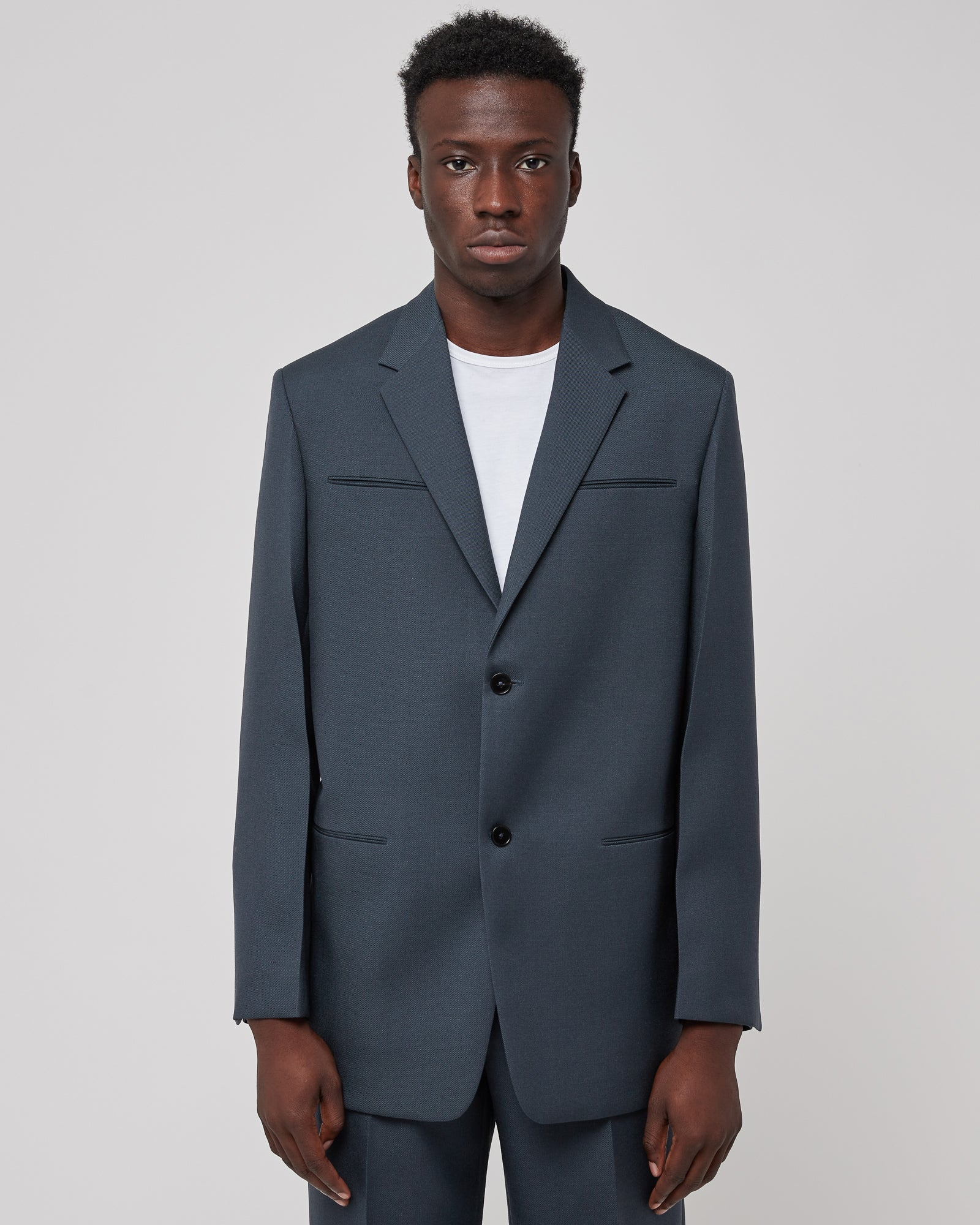 Tailored Jacket in Dark Gray