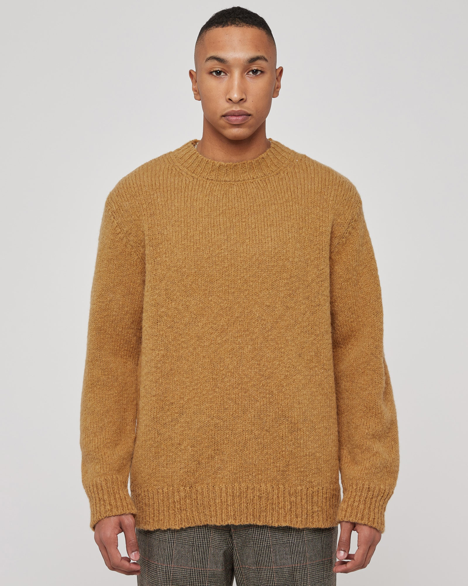 Marvyn Sweater in Mustard
