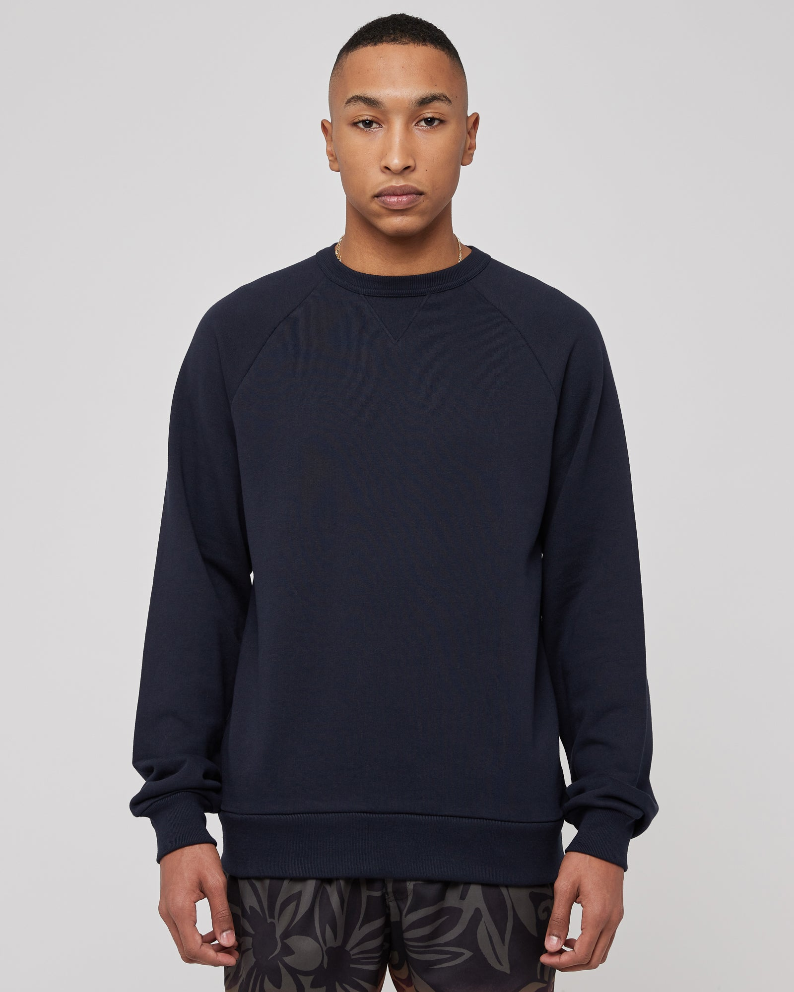 Hosko Sweater in Navy
