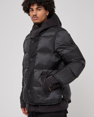 Sacai x Ten C Hooded Jacket in Black