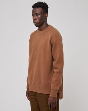 Raglan Sleeve Sweater in Dark Beige