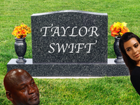 R.I.P. TAYLOR SWIFT :( YOU WON'T BELIEVE WHAT KIM K DID