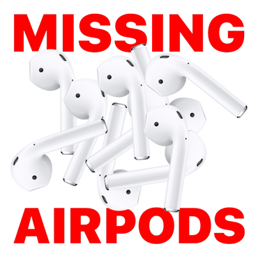 Missing Airpods by Pablo Rochat