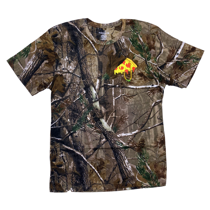 Pizzaslime Gang T-Shirt [REAL TREE CAMO]