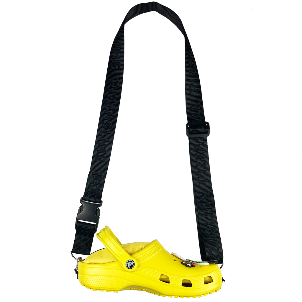 Pizzaslime x Crocs - Yellow Bag
