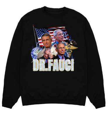 Fauci Gang Crewneck Sweater