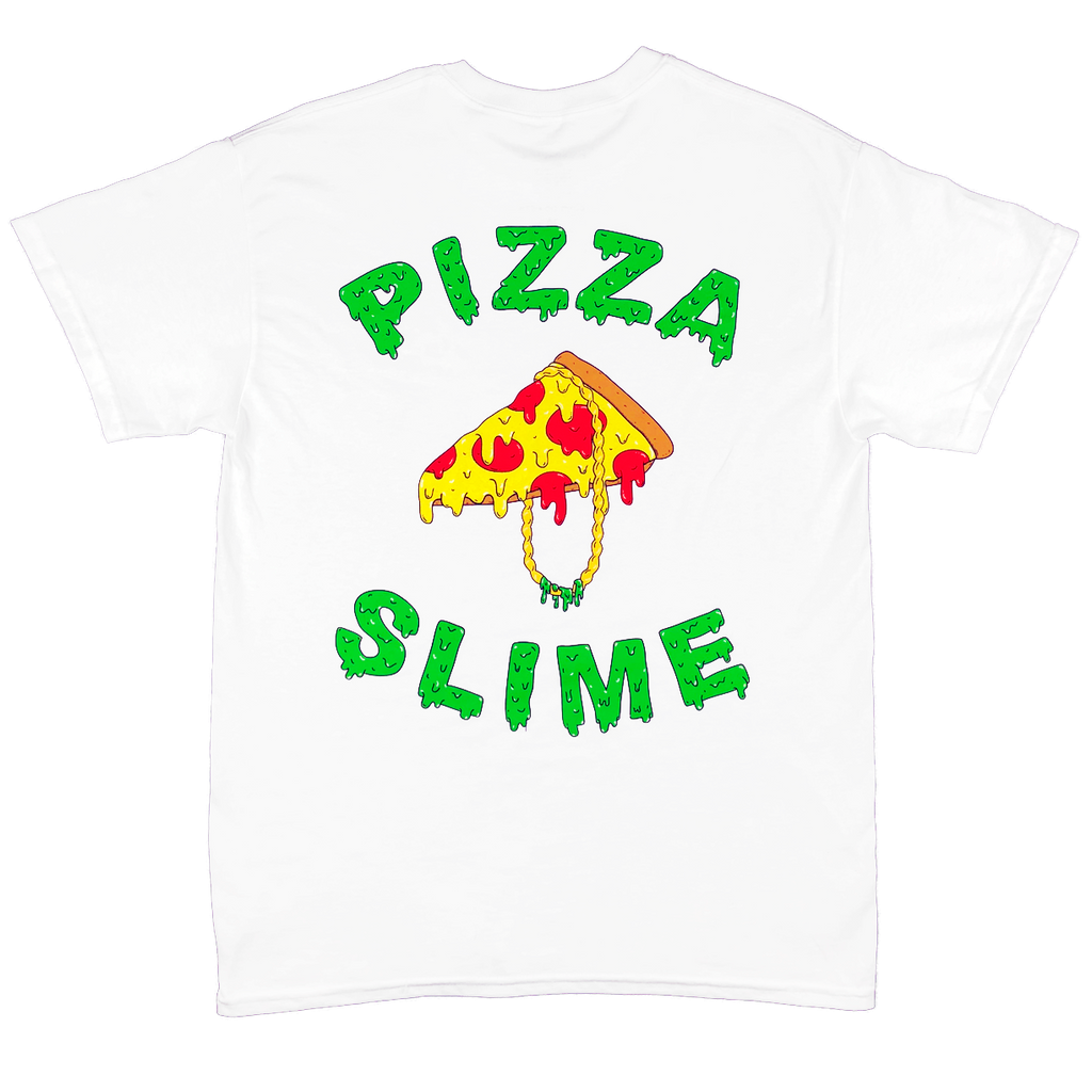 Pizzaslime Gang T-Shirt 1.2 (WHITE)