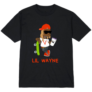 ALMOST OFFICIAL LIL WAYNE T-SHIRT (black)