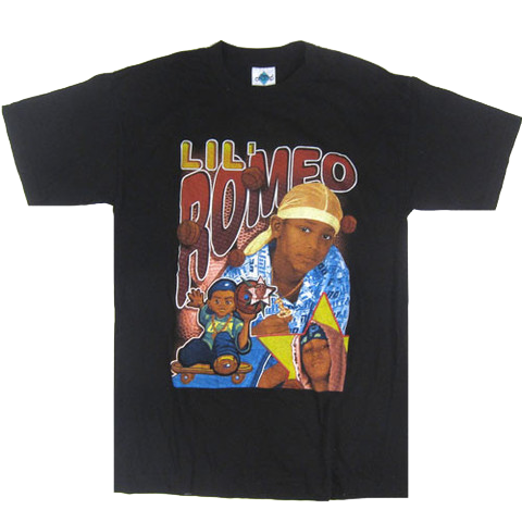 Real Vintage Lil' Romeo Bootleg T-Shirt (NEVER WORN)