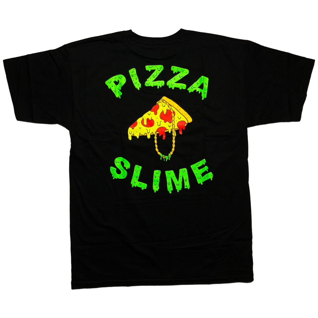 Pizzaslime Gang T-Shirt 1.2 (BLACK)