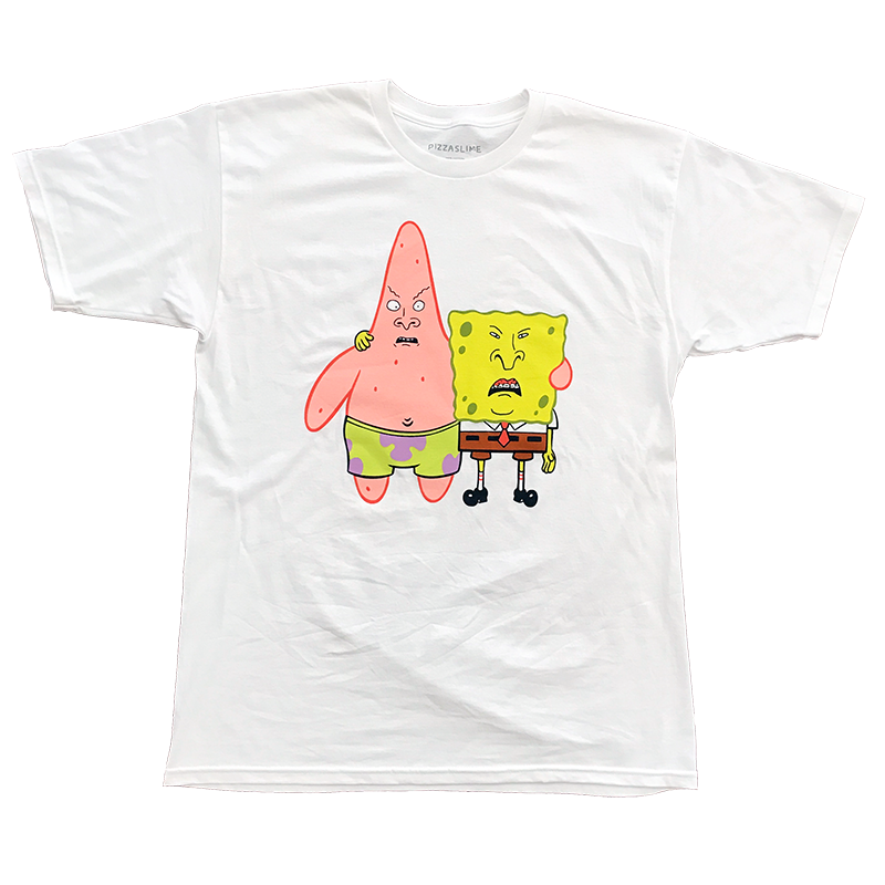 The Spongebutt Squarehead and Beavrick T-Shirt