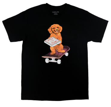 Dog Skate T-Shirt (BLACK)