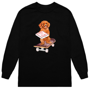 Dogskate Long Sleeve (BLACK)