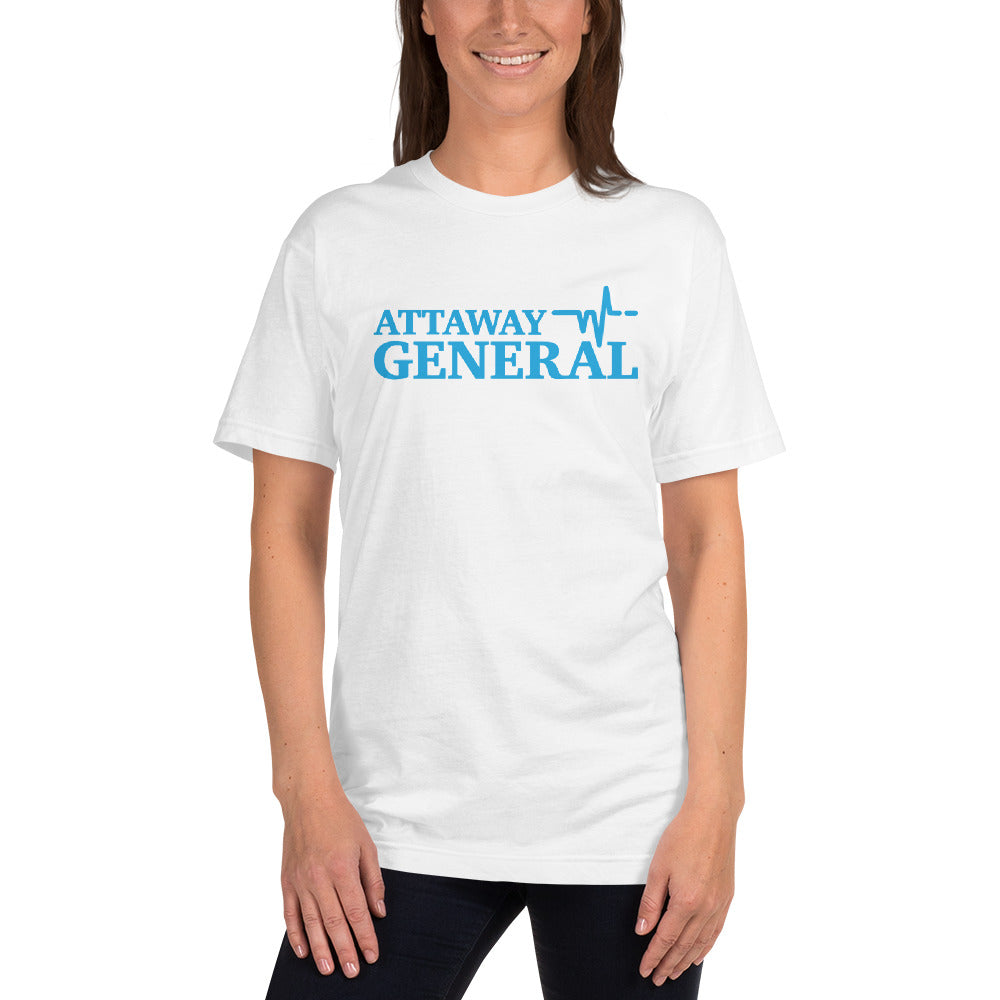 Attaway General Blue Logo T-Shirt