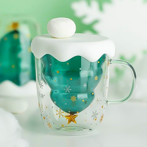Christmas Crystal Star Cup
