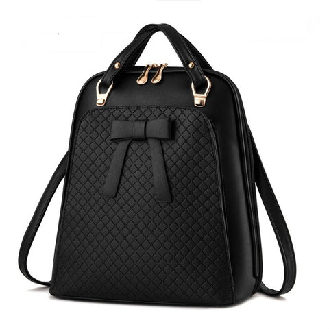 Kira Wallace Quilted Leather Backpack