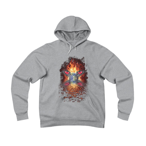 Earth on Fire Unisex Pullover Hoodie