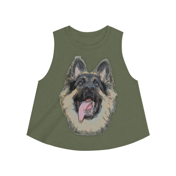 German Shepherd Women's Crop top