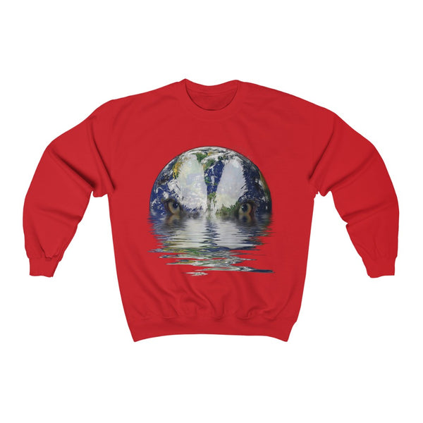 Angry Earth Unisex Heavy Blend™ Crewneck Sweatshirt