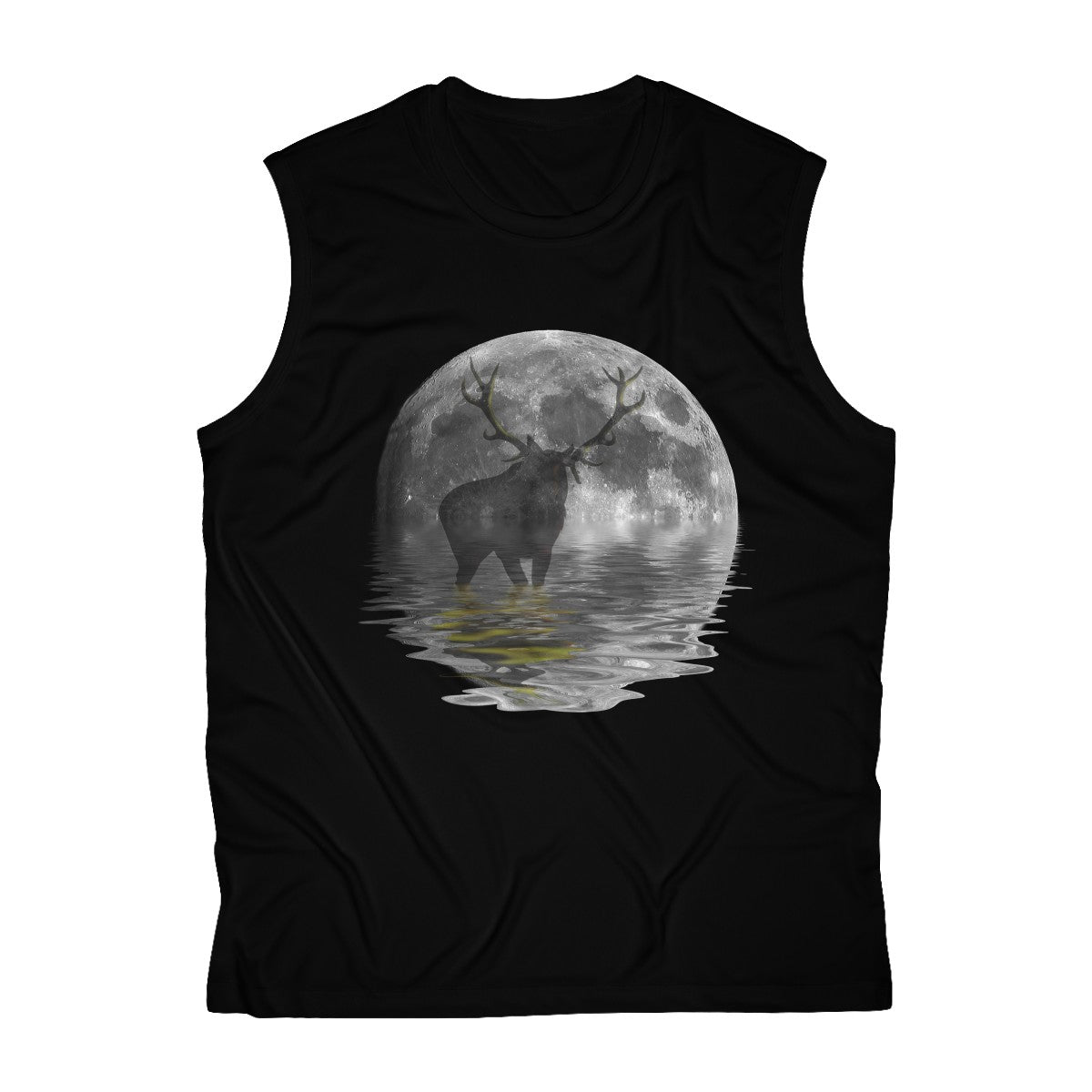 Moose Men's Sleeveless Performance Tee