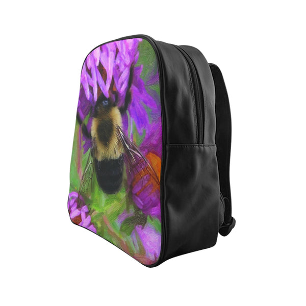 Bumble Bee School Backpack