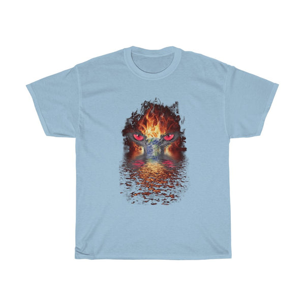 Earth on Fire  Unisex Heavy Cotton Tee