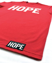 HOPE - LOGO TEE RED