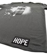 HOPE - SPRAY CAN TEE ASPHALT