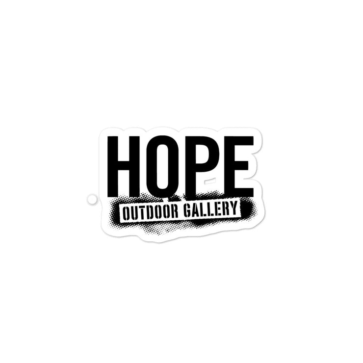 Hope Logo Sticker