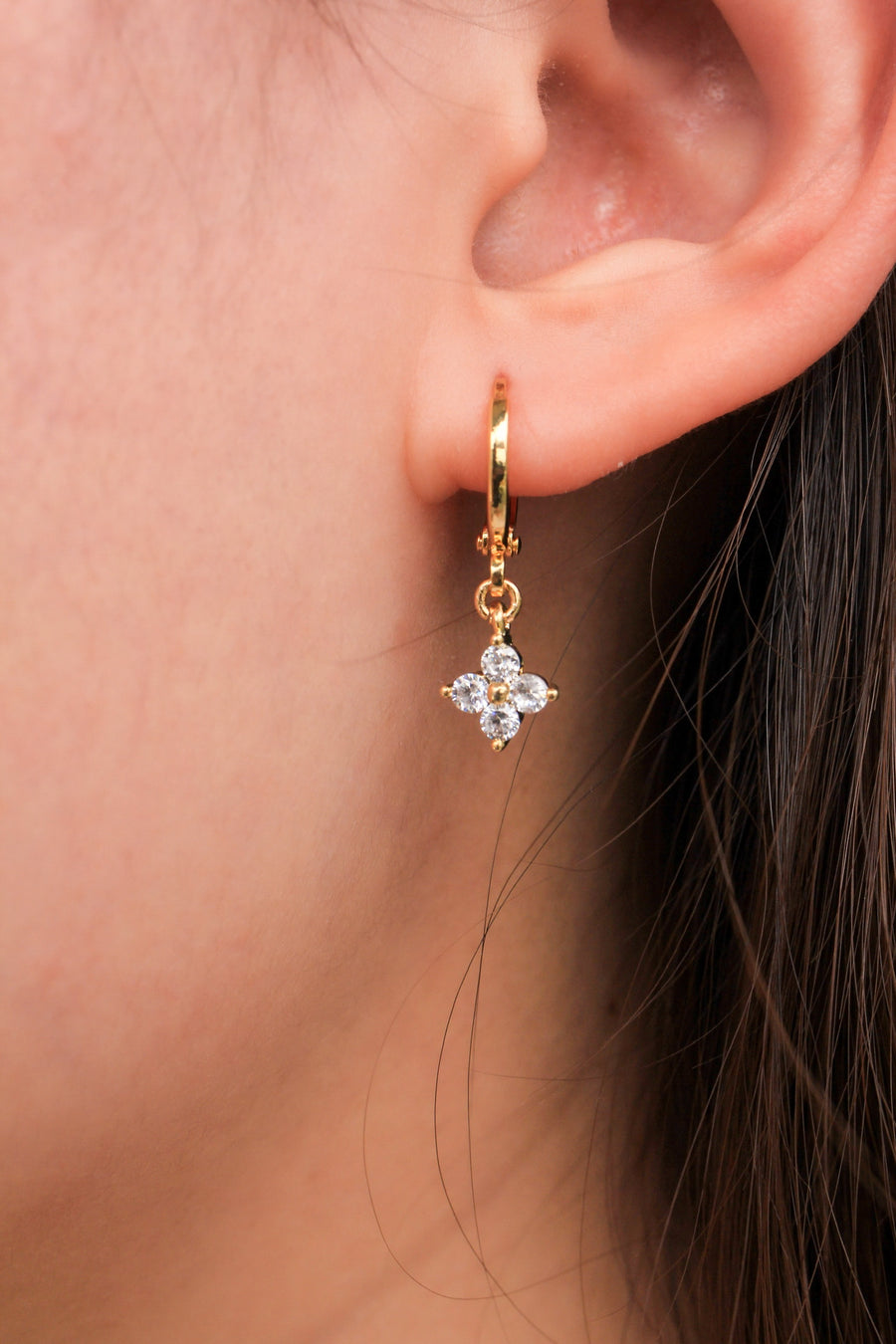 Personalised Earrings - Good Luck