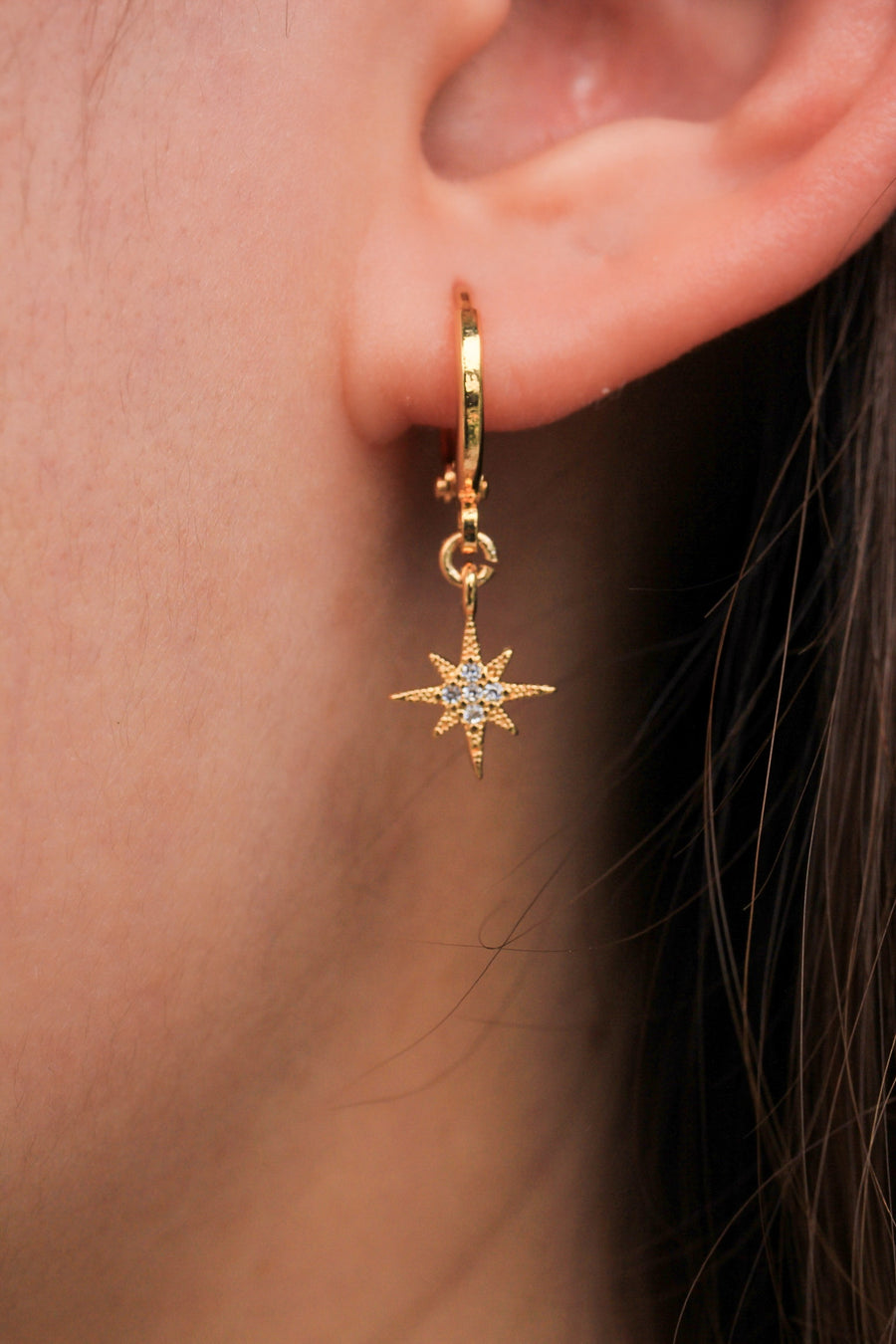 Personalised Earrings - Stars Can't Shine Without Darkness