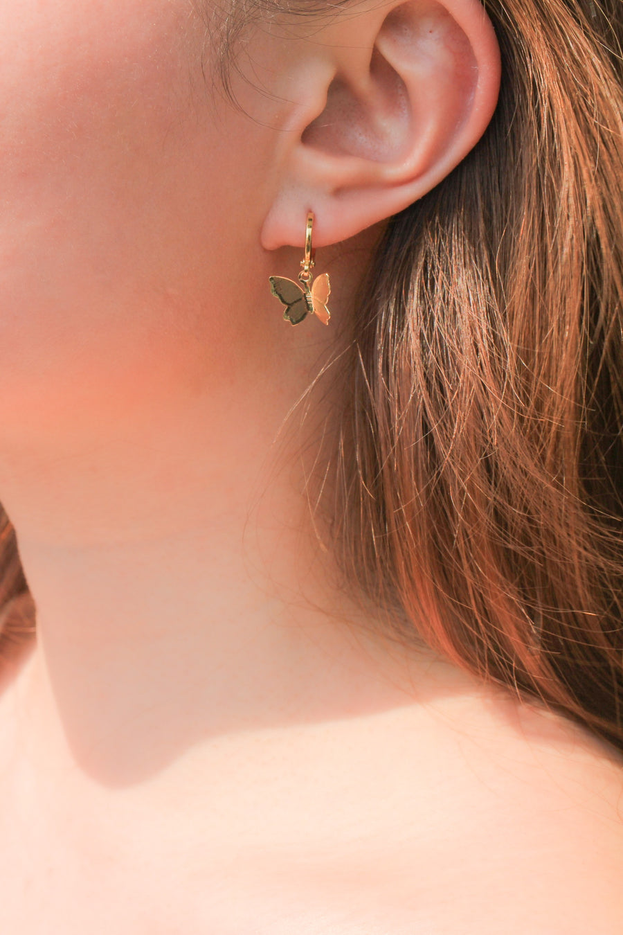 Personalised Earrings - Butterfly