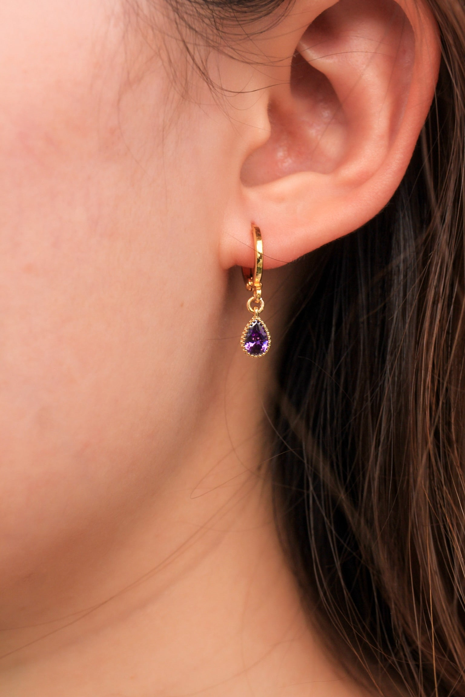 Personalised Earrings - Alexandrite